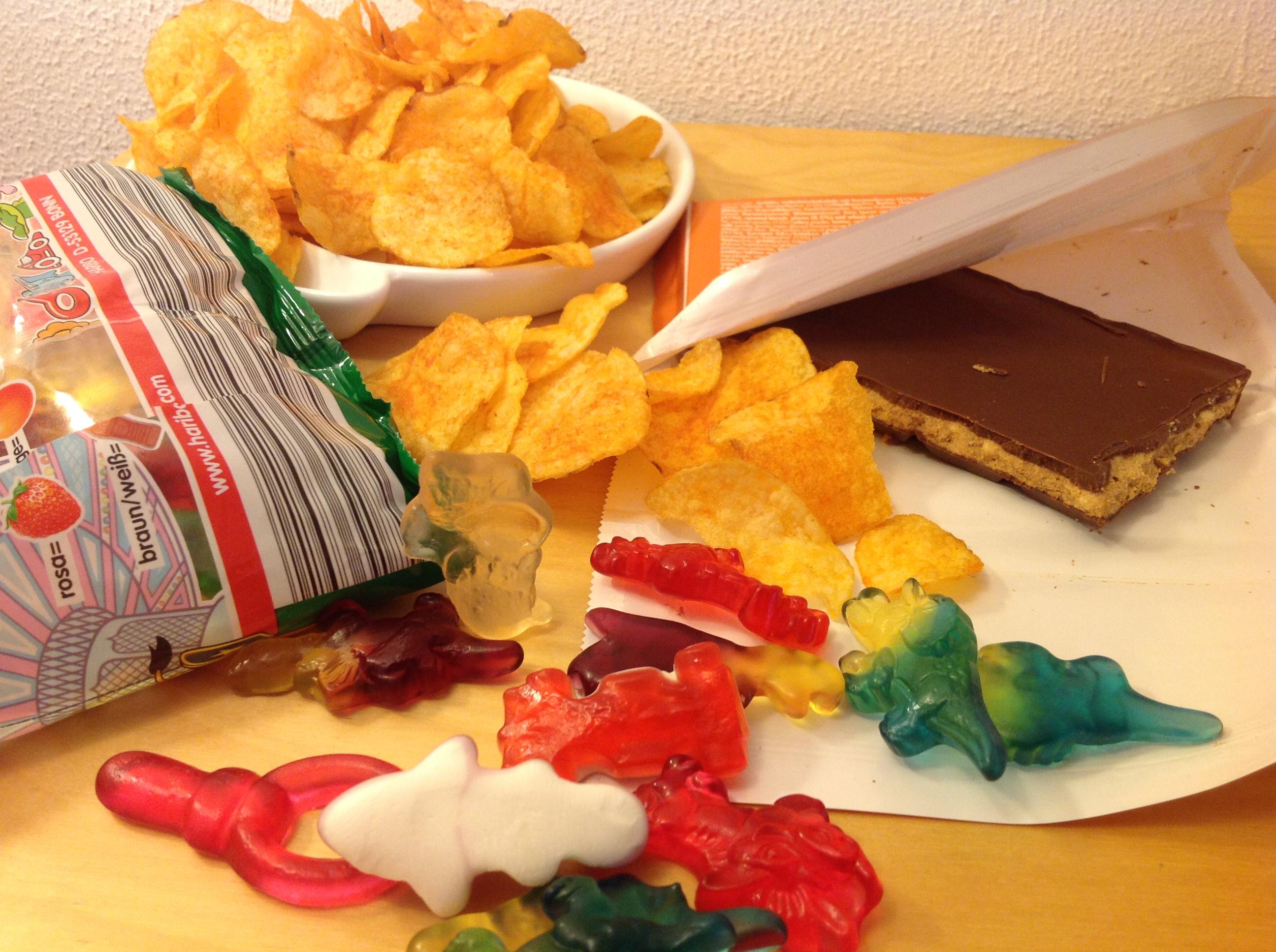 Süßigkeiten ausmisten!