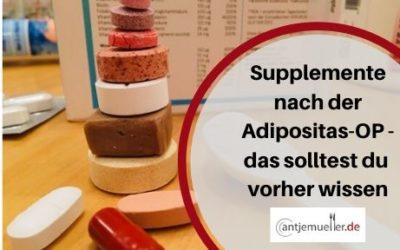Supplemente nach der Adipositas-OP – das solltest du schon vorher wissen